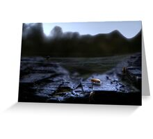 insect valley Greeting Card