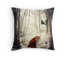 On a Winter's Day Throw Pillow