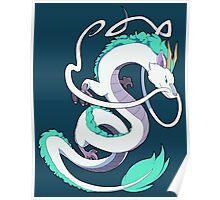 Studio Ghibli - Spirited Away - Haku (Dragon) Poster