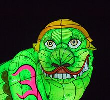 Green Oriental Dragon by coryianshafer