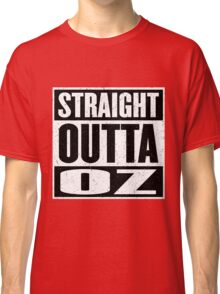 Straight Outta Oz - Dorothy & Toto in the Hood - Movie Mashup - Not in Kansas Anymore Classic T-Shirt