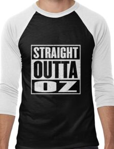 Straight Outta Oz - Dorothy & Toto in the Hood - Movie Mashup - Not in Kansas Anymore Men's Baseball ¾ T-Shirt