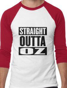 Straight Outta Oz - Dorothy & Toto in the Hood - Movie Mashup - Not in Kansas Anymore Men's Baseball ¾ T-Shirt