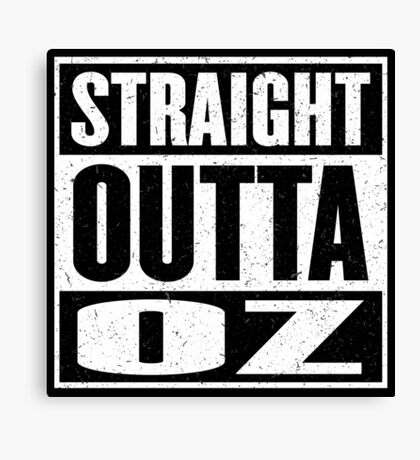 Straight Outta Oz - Dorothy & Toto in the Hood - Movie Mashup - Not in Kansas Anymore Canvas Print
