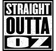 Straight Outta Oz - Dorothy & Toto in the Hood - Movie Mashup - Not in Kansas Anymore Photographic Print