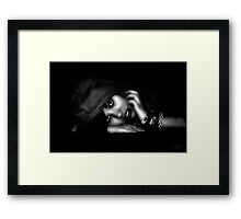 """ Beauty from the darkness "" Framed Print"