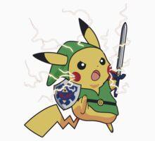 Linkachu - Pokemon Zelda Kids Clothes