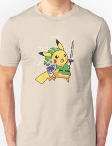 Linkachu - Pokemon Zelda T-Shirt