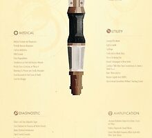 Sonic Screwdriver Infographic by JoshBald