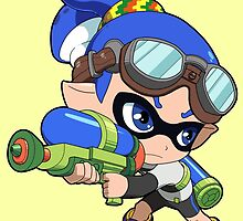 Splatoon - Inkling Boy by 57MEDIA