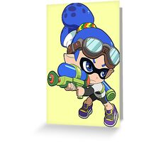 Splatoon - Inkling Boy Greeting Card