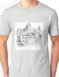 Pencil cat Unisex T-Shirt