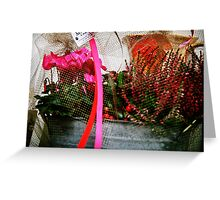 Support Breast Cancer  Greeting Card