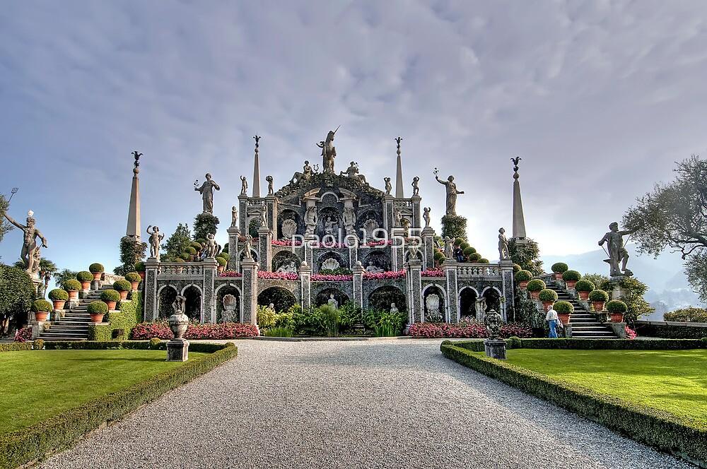 Borromeo's Gardens - The Triumph by paolo1955