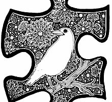 White Raven - Circle of Light by eleveneleven
