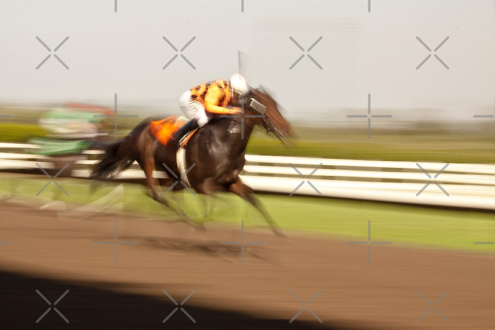 In a Blur of Speed by Buckwhite