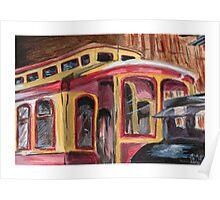 San José Trolley Barn 1 Poster