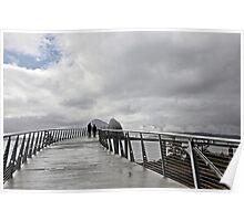 New foot bridge Poster