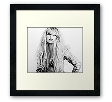 No need for words  Framed Print