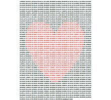 binary poem Photographic Print