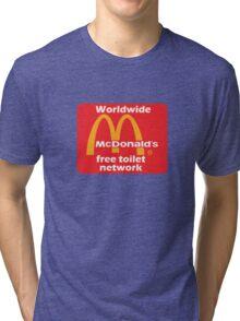 mcToilet Tri-blend T-Shirt