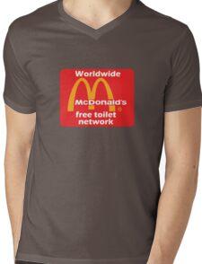 mcToilet Mens V-Neck T-Shirt