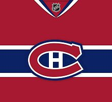 Montreal Canadiens 2007-15 Home Jersey by Russ Jericho