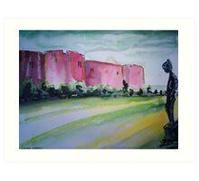 'Chirk Castle' Art Print