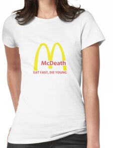 McDeath Womens Fitted T-Shirt