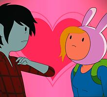 Fionna and Marshall Lee by Optimistic  Sammich