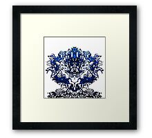 The Madness of Creativity Framed Print