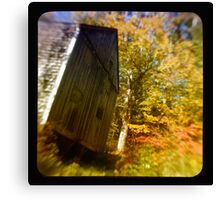 TTV- the old barn through morning light Canvas Print