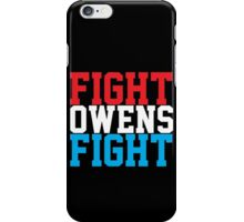 Fight Owens Fight Classic iPhone Case/Skin