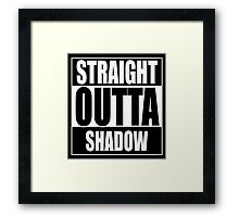 Straight OUTTA Shadow - Firefly - Serenity Framed Print