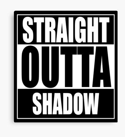 Straight OUTTA Shadow - Firefly - Serenity Canvas Print