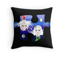 Two Pieces Throw Pillow