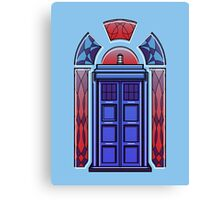 Art Deco TARDIS Canvas Print