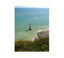 Beachy Head Lighthouse, England 2015 Art Print