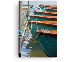 Row, row, row your boat Canvas Print