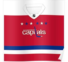 Washington Capitals Alternate Jersey Poster