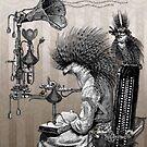 Professor Vogel's Reading Machine by Bethalynne Bajema