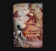 Kaiju, Samurai, Art, Monster, Godzilla, drawing, ultraman, gamera, japanese, sci fi, horror, science fiction, japan, sword, joe badon T-Shirt