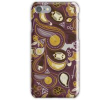 Potter Paisley iPhone Case/Skin
