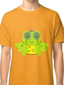 Funny Prince Charming Cartoon Frog Classic T-Shirt