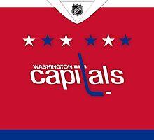 Washington Capitals Alternate Jersey by Russ Jericho