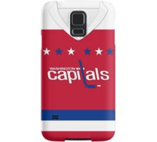 Washington Capitals Alternate Jersey Samsung Galaxy Case/Skin
