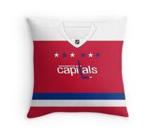 Washington Capitals Alternate Jersey Throw Pillow