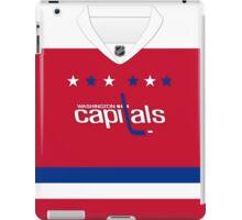 Washington Capitals Alternate Jersey iPad Case/Skin