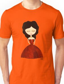 Red princess Unisex T-Shirt