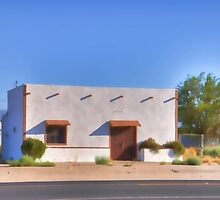 Lucerne Valley Main Street by Herman Hodges